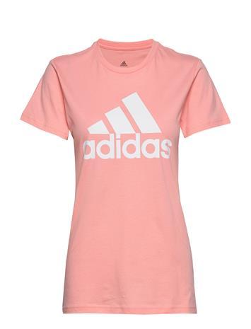 adidas Performance W Bos Co Tee T-shirts Short-sleeved Vaaleanpunainen Adidas Performance GLOPNK