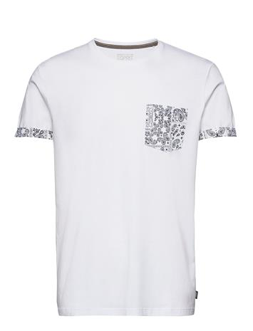 Esprit Casual T-Shirts T-shirts Short-sleeved Sininen Esprit Casual NAVY 4