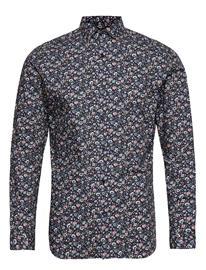 Jack & Jones Jprblablackpool Shirt L/S S20 Sts Paita Rento Casual Sininen Jack & J S NAVY BLAZER