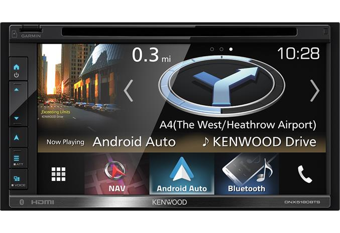 Kenwood DNX5180BTS, multimedia-autosoitin