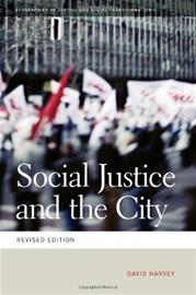Social Justice and the City (David Harvey), kirja