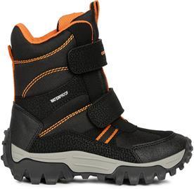 Geox Himalaya WPF Talvikengät, Black/Orange 27