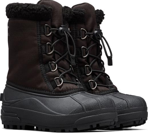 Sorel Youth Pac Cumberland Talvisaappaat, Black 28