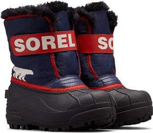 Sorel Children's Snow Commander Talvisaappaat, Nocturnal/Sail Red 29