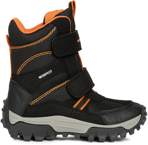 Geox Himalaya WPF Talvikengät, Black/Orange 28