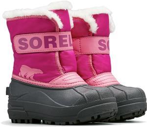 Sorel Children's Snow Commander Talvisaappaat, Tropic Pink/Deep Blush 28