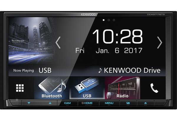 Kenwood DDX9717BTS, multimedia-autosoitin
