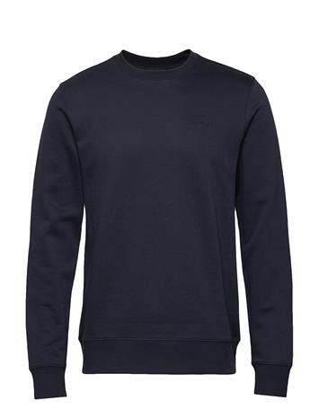 J. Lindeberg Throw C-Neck-Clean Sweat Svetari Collegepaita Sininen J. Lindeberg JL NAVY, Miesten paidat, puserot ja neuleet