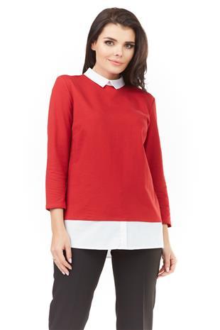 Naisten paita, punainen, S (36)