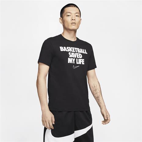 Nike M NK DRY TEE VERB MY LIFE BLACK