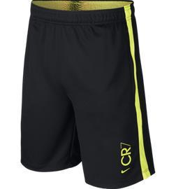 Nike CR7 B NK DRY SHORT KZ BLACK/LEMON-VENOM