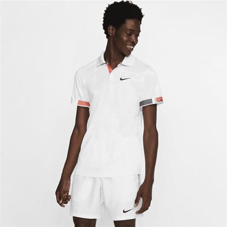 Nike M NKCT BRTHE ADV POLO MB NT WHITE/OFF NOIR