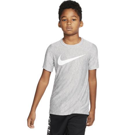 Nike J CORE PERF HTHR TEE SMOKE GREY