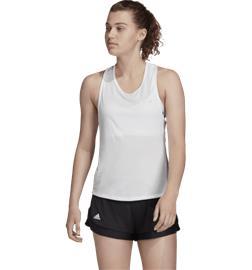 Adidas CLUB TIE TANK WHITE/MATTE SILVER