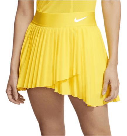 Nike W NKCT ELVTD VICTORY SKIRT OPTI YELLOW/WHITE