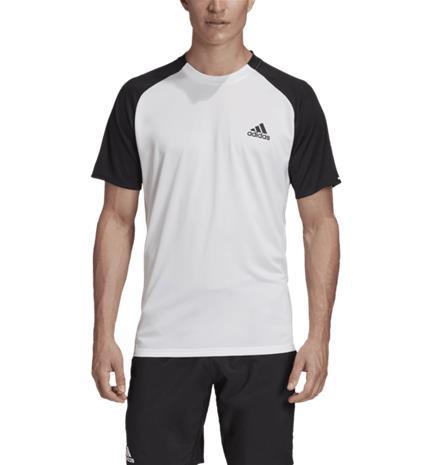 Adidas CLUB C/B TEE WHITE/BLACK