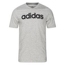 adidas T-paita Essentials Logo - Harmaa/Musta