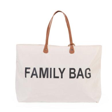 CHILDHOME Hoitolaukku Family Bag likaisenvalkoinen
