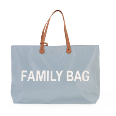 CHILDHOME Hoitolaukku Family Bag vaaleanharmaa