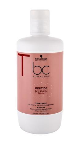 Schwarzkopf BC Bonacure Peptide Repair Rescue hiusnaamio naiselle 750 ml