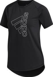ADIDAS Tech Badge Of Sport Tee naisten treenipaita