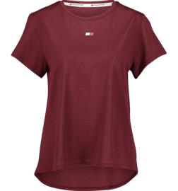 Tommy Sport W PERFORMANCE LBR TOP DEEP ROUGE