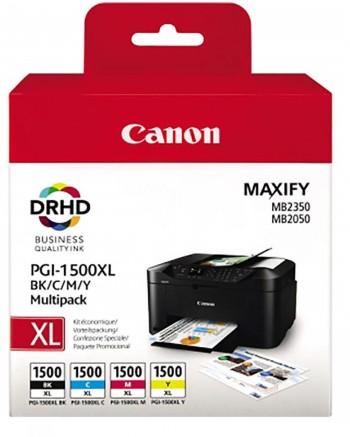 Canon PGI-1500 BK/C/M/Y, mustekasetti