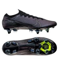 Nike Mercurial Vapor 13 Elite SG-PRO Anti-Clog Kinetic Black - Musta