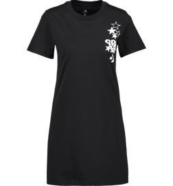 Converse W LEFT CHEST ICON REMIX TEE DRESS CONVERSE BLACK