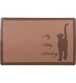 Trixie My Kitty Darling 44 x 28 cm kissan ruoka-alusta