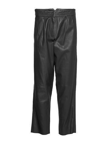 MDK / Munderingskompagniet Iris Leather Pants Leather Leggings/Housut Ruskea MDK / Munderingskompagniet BUNGEE CORD