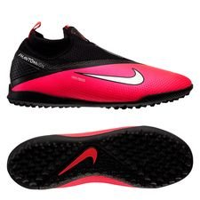Nike Phantom Vision 2 React Pro DF TF Future Lab - Pinkki/Hopea/Musta