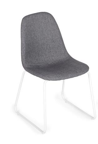 Lorenzo-tuolit, 2 kpl, harmaa