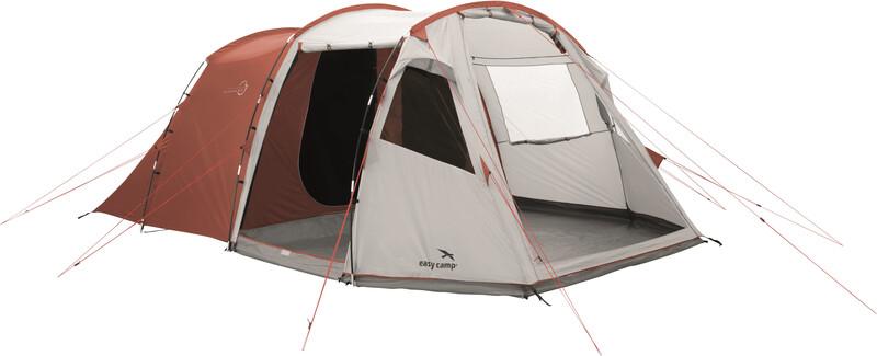 Easy Camp Huntsville 600 Tent, red/light grey