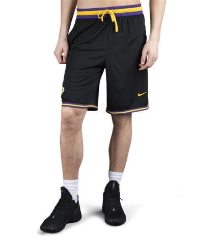 Nike LA LAKERS M NK SHORT DNA BLACK/FIELD PURPLE