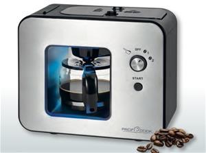 Kahvinkeitin integroidulla myllyllä ProfiCook PCKA1152