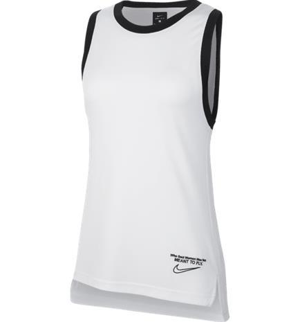 Nike W NK DRY TEE SS WHITE