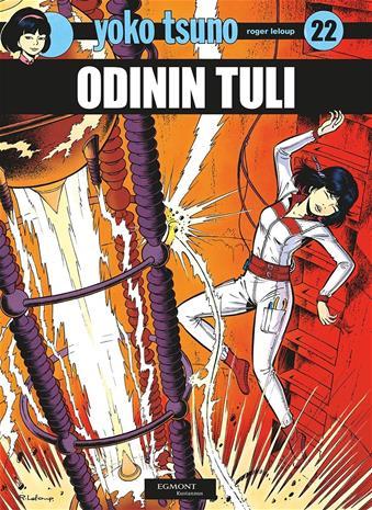 Odinin tuli : Yoko Tsuno 22 (Roger Leloup), kirja