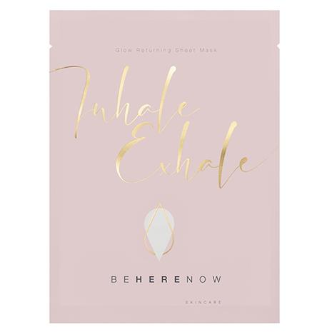 Be Here Now Skincare Inhale, Exhale - Glow Returning Sheet Mask - 25 ml