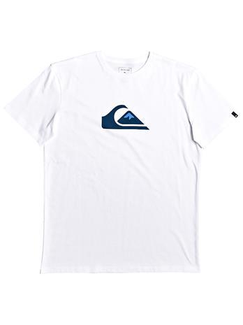 Quiksilver Comp Logo T-Shirt white Miehet