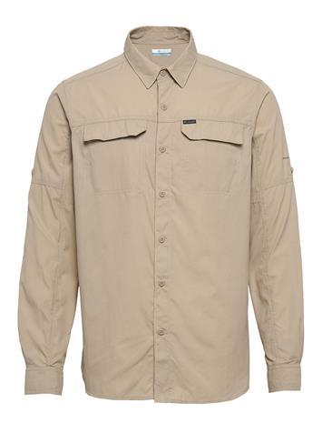 "Columbia Silver Ridgeâ""¢2.0 Long Sleeve Shirt Paita Rento Casual Beige Columbia FOSSIL"