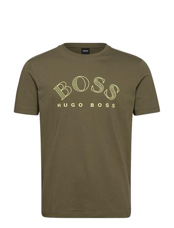 BOSS Tee 1 T-shirts Short-sleeved Musta BOSS BLACK