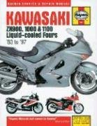 Kawasaki Zx900, 1000 and 1100 Liquid-Cooled Fours Service and Repair Manual (John Haynes), kirja