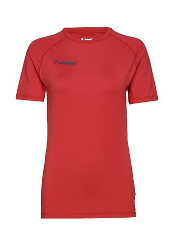 Hummel Hml First Performance Jersey S/S T-shirts Short-sleeved Sininen Hummel TRUE BLUE