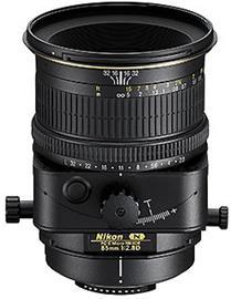 Nikon PC-E Nikkor 85mm f/2.8 D, objektiivi
