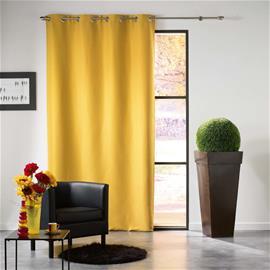 MEZZO -Pimentävä verho, keltainen, 140 x 240 cm, 1 kpl