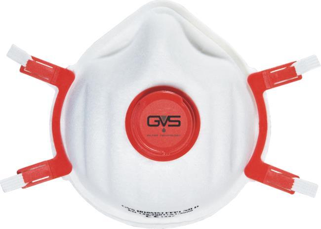 GVS hengityssuojain FFP3 R D, uudelleenkäytettävä