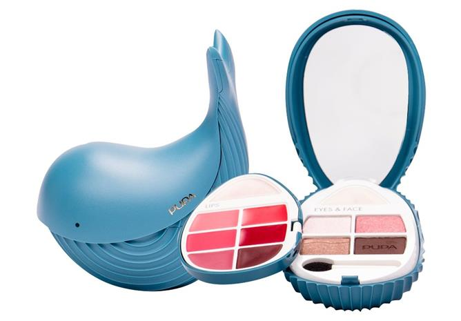 Pupa Whales Whale 2 meikkipaletti 6,6 g, sävy 012