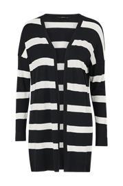 Only Neuletakki onlSelena L/S Stripe Cardigan CC Knt, Naisten paidat, puserot, topit, neuleet ja jakut