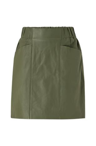 Y.A.S Nahkahame yasRobin HW Leather Skirt